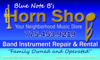 Blue Note B's Horn Shop